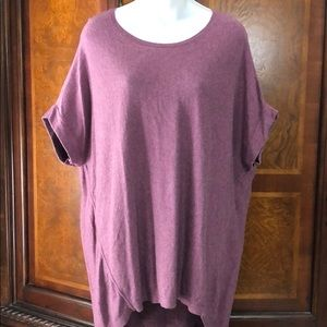 Loft Drop Shoulder Pullover Sweater Tunic